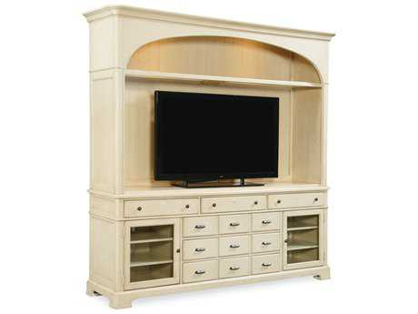 Paula Deen Home River Boat Entertainment Center with Hutch