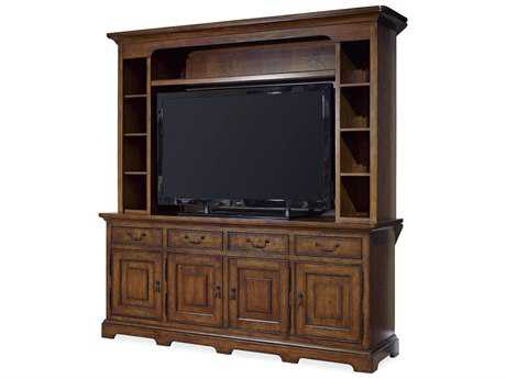 Paula Deen Home Dogwood Low Tide 80''L x 22''W Entertainment Console with Deck