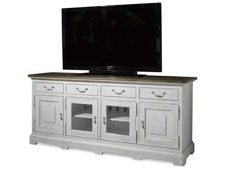 Paula Deen Home Dogwood Blossom with Driftwood Top 80''L x 22''W Entertainment Console