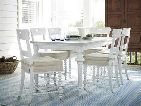 Paula Deen Home Dogwood Blossom with Cobblestone Top Dining Set