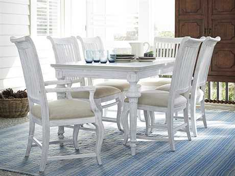 Paula Deen Home Dogwood Blossom with Cobblestone Dining Set