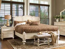 Paula Deen Home Linen Savannah California King Panel Bed