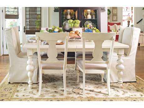 Paula Deen Home Linen 76 x 46 Rectangular Dining Table