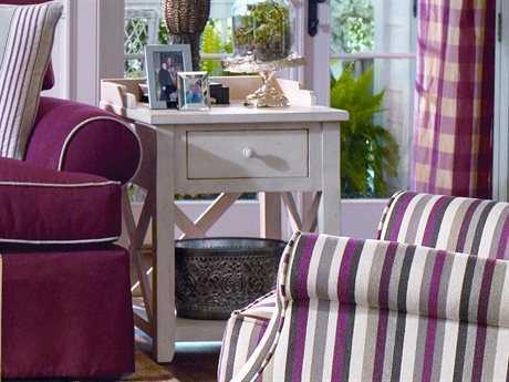 Paula Deen Home Linen 22'' x 24'' Rectangular Drawer End Table