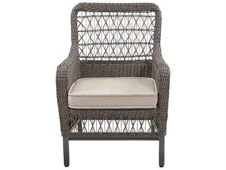 Paula Deen Outdoor Dogwood Aluminum Stacking Dining Arm Chair