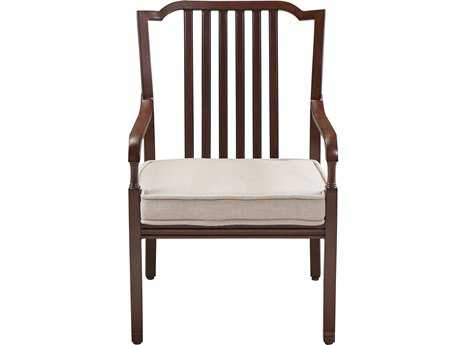 Paula Deen Outdoor River House Aluminum Stacking Dining Arm Chair