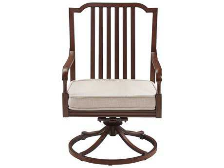 Paula Deen Outdoor River House Aluminum Swivel Dining Chair