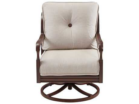 Paula Deen Outdoor River House Lounge Swivel Chair