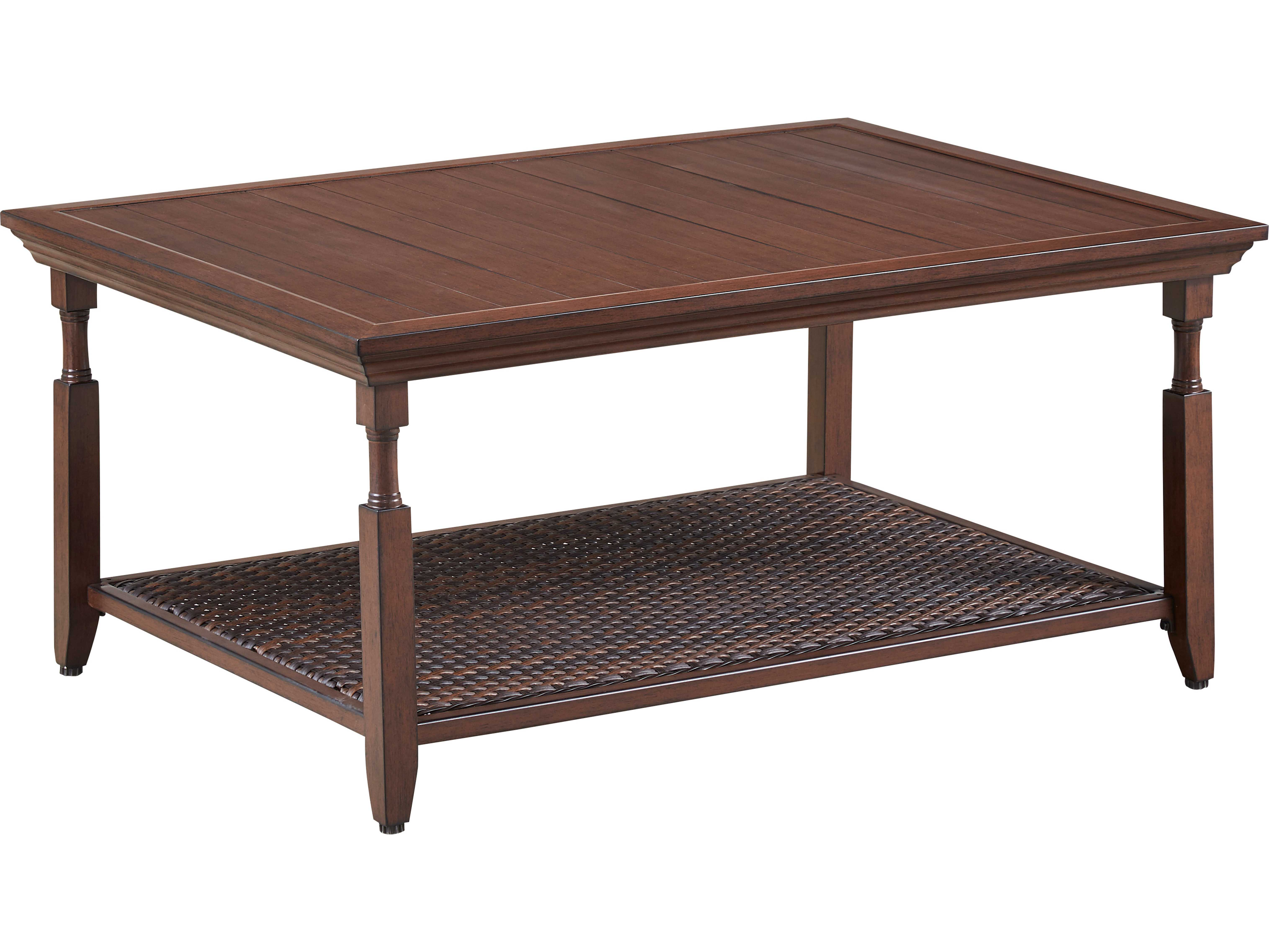 Paula Deen Outdoor River House 43 7 X 31 5 Coffee Table With Aluminum Slat Top 17003803