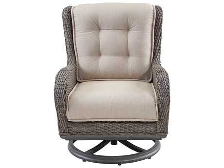 Paula Deen Outdoor Dogwood Wicker Swivel Lounge Chair PDO17003865