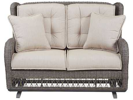 Paula Deen Outdoor Dogwood Wicker Loveseat Glider PDO17003889