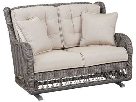 Paula Deen Outdoor Dogwood Wicker Loveseat Glider PDO17004190