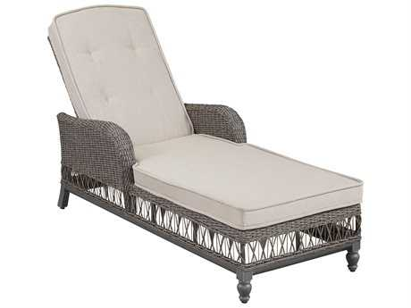Paula Deen Outdoor Dogwood Wicker Adjustable Chaise Lounge