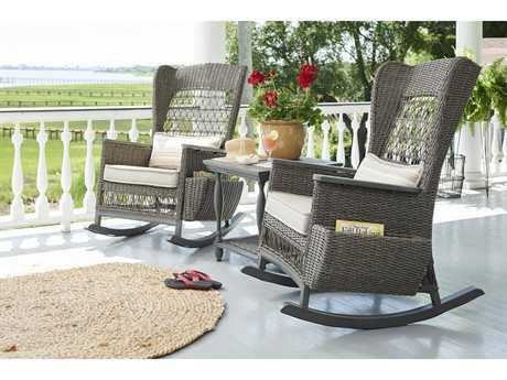 Paula Deen Outdoor Dogwood Wicker Rocker Set