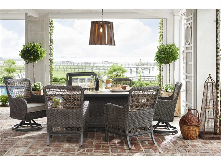 Paula Deen Outdoor Dogwood Wicker Dining Set Dogwoodset5