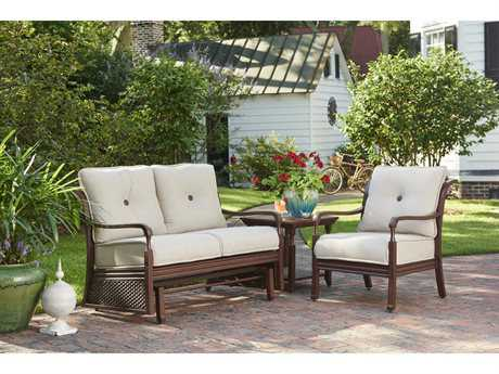 Paula Deen Outdoor River House Aluminum Lounge Set