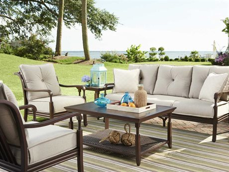 Paula Deen Outdoor River House Aluminum Lounge Set : paula deen sectional - Sectionals, Sofas & Couches