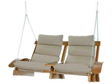 Pawleys Island Coastal Recycled Plastic Cushion Swing