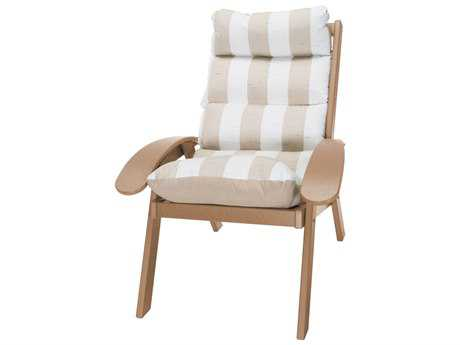 Pawleys Island Coastal Recycled Plastic Cushion Chair