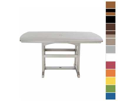 Pawleys Island Porch Recycled Plastic 60 x 42 Dining Table