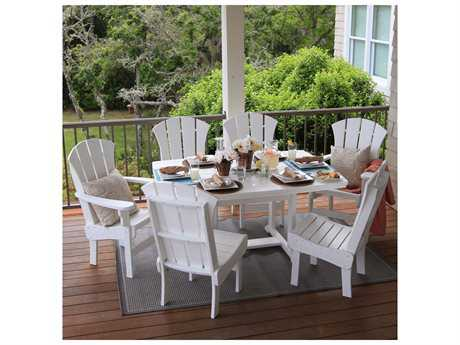 Pawleys Island Porch Recycled Plastic Dining Set
