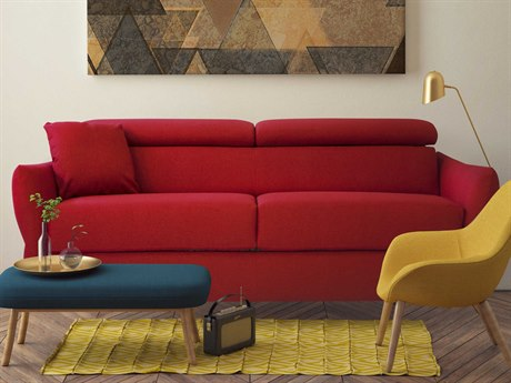 Pezzan Komodo Mira Red Sofa Bed