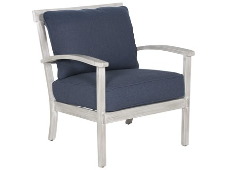 Castelle Biltmore Antler Hill Deep Seating Aluminum Lounge Chair