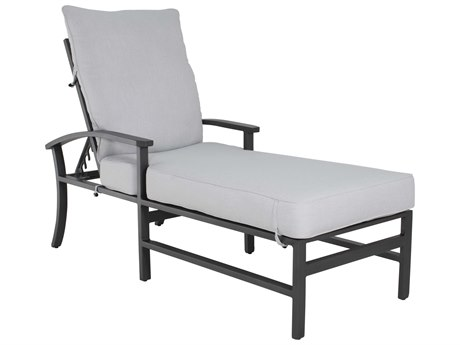 Castelle Biltmore Antler Hill Formal Aluminum Adjustable Chaise Lounge