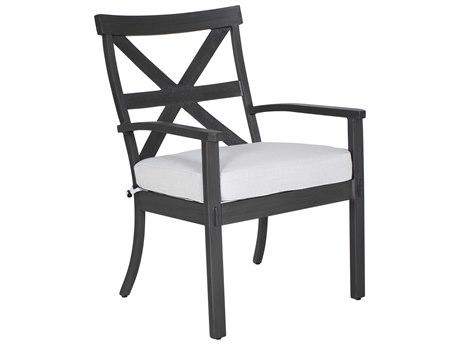 Castelle Biltmore Antler Hill Formal Aluminum Dining Arm Chair