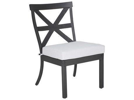 Castelle Biltmore Antler Hill Formal Aluminum Dining Side Chair