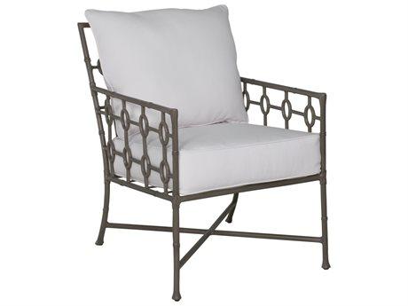 Castelle Barclay Butera Savannah Cushion Aluminum Dining Arm Chair