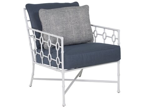 Castelle Barclay Butera Savannah Deep Seating Aluminum Lounge Chair