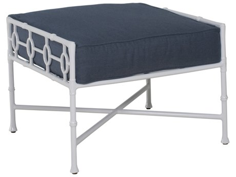Castelle Barclay Butera Savannah Deep Seating Aluminum Ottoman