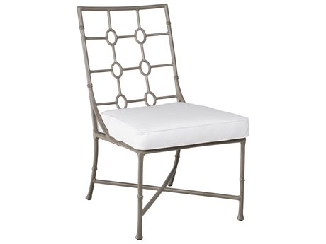 Castelle Barclay Butera Savannah Cushion Aluminum Dining Side Chair
