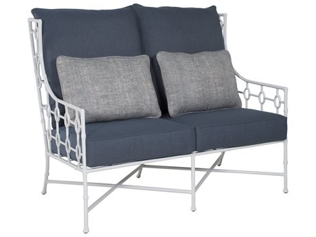 Castelle Barclay Butera Savannah Deep Seating Aluminum Wing Love Seat