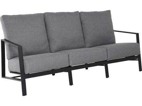 Castelle Prism Deep Seating Aluminum Sofa