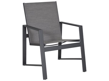 Castelle Prism Sling Aluminum Dining Arm Chair