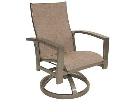 Castelle Orion Sling Cast Aluminum Swivel Rocker