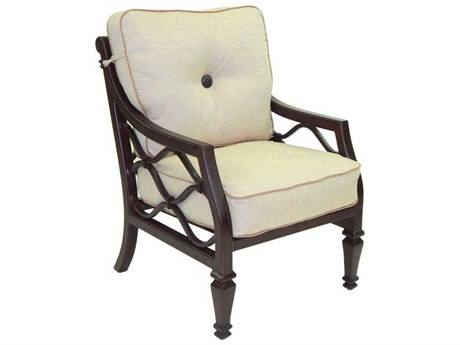 Castelle Villa Bianca Cushion Cast Aluminum Dining Chair