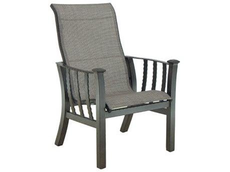 Castelle Santa Fe Sling Cast Aluminum Dining Chair