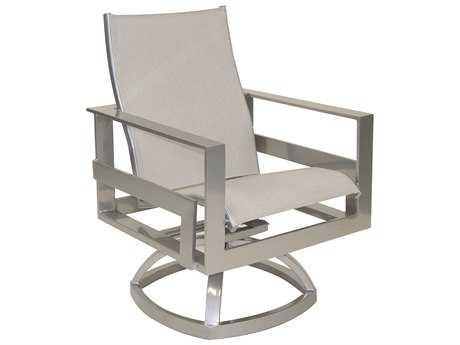 Castelle Eclipse Sling Cast Aluminum Swivel Rocker