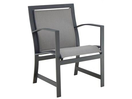 Castelle Moderna Sling Aluminum Dining Chair