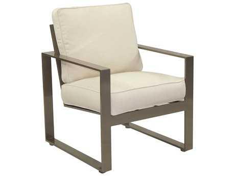 Castelle Park Place Cushion Cast Aluminum Dining Chair