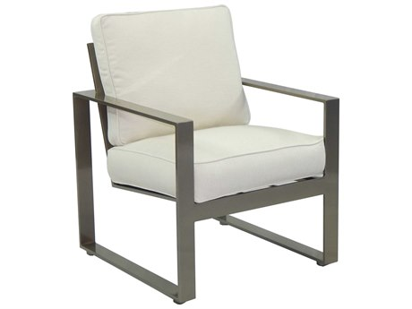 Castelle Park Place Cushion Cast Aluminum Dining Chair