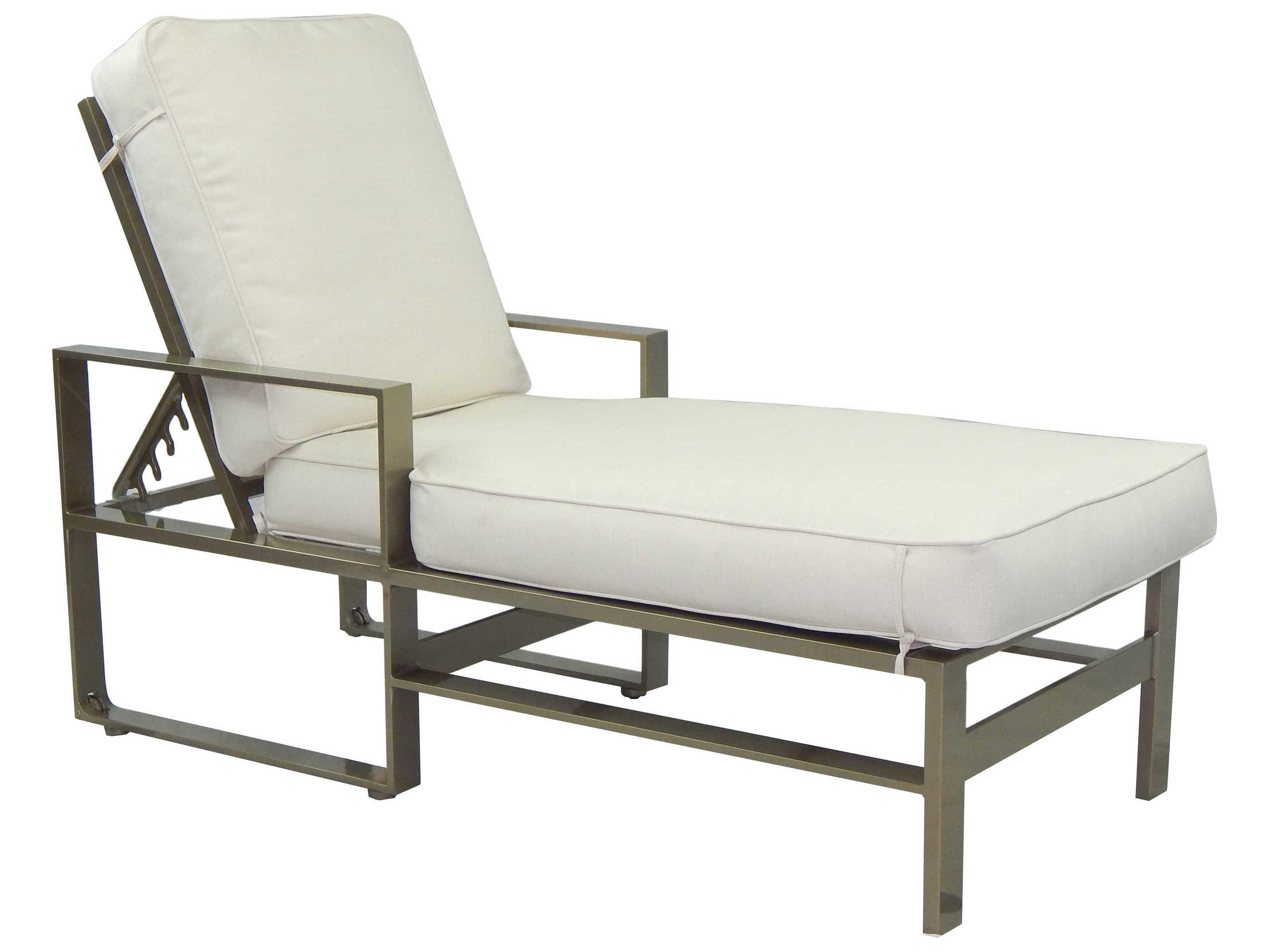 Castelle Park Place Cushion Cast Aluminum Adjustable ...
