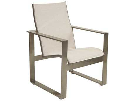 Castelle Park Place Sling Cast Aluminum Dining Chair
