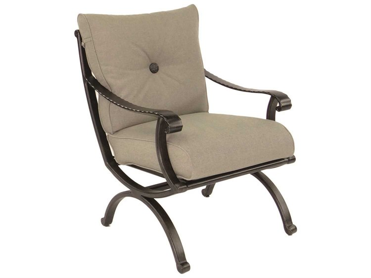 Castelle Telluride Cushion Cast Aluminum Dining Chair