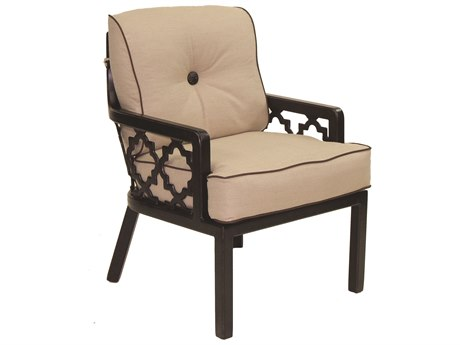 Castelle Belle Epoque Cushion Cast Auminum Dining Chair