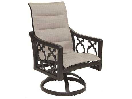 Castelle Belle Epoque Sling Cast Auminum Swivel Rocker