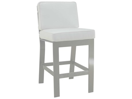 Castelle Trento Cushion Cast Aluminum Counter Stool